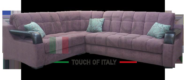 севилья у 2 угловой диван кровать аккордеон для комфортного сна в
